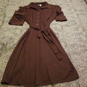 Jessica London 22w brown dress